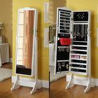 2014 New stylish Jewelry mirror cabinet made by MDF