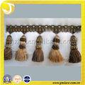 Linda cortina de franja corte do pendão cortina para, sofa, tapeçaria valance e decoração