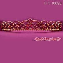 rhinestone comb tiaras