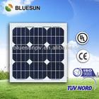 Bluesun best price mono 20w hot air solar panel