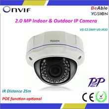 2.0 Megapixel IP Camera Module P2P IR Network Camera Camara IP