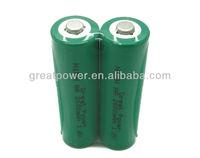 2600MAH 1.5v aa ni-mh rechargeable battery