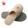professional close toe cotton waffle hotel slippers