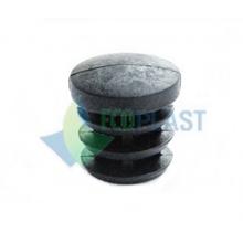 Round 22 mm plastic caps closures for pipes