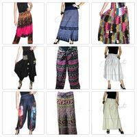 Chiffon Harem Pants, Garments JumpSuit ,Yoga Clothes Floral Print Dress Sarouel,pantalon