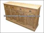 Recycled Wood Furniture, Reclaimed Buffet Teak Furniture