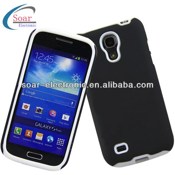 black combo case for samsung s4 mini i9190/i9192/i9195/i9198