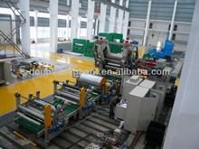 PVC plastic rigid sheet three roll calender trading company