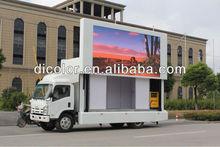 Truck mobile outdoor billboard LED display