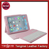 Portfolio Detachable Bluetooth Keyboard PU Leather Flip Stand Wallet Case Cover For ipad 2/3/4