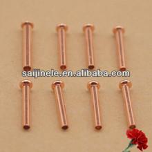 pin elettrici in rame cavo presa del pwb rivetti