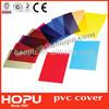 HOPU book binding pvc book cover