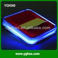 hub usb nota ygh360 distributore di carta con luce a led blu
