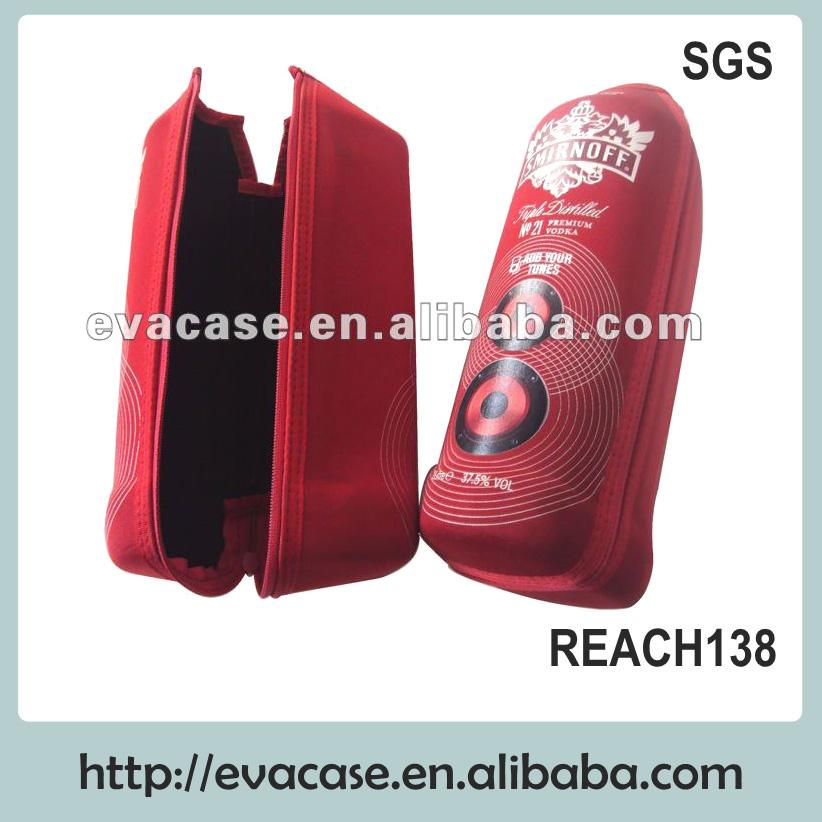 fancy eva wine bag leather wine carrier