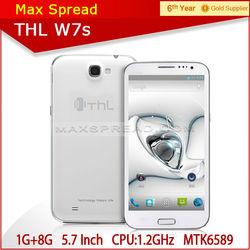 THL smartphone w7s dual sim mtk6589 quad core thl w7s mtk6589 smartphone