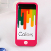 2014 fashion soft mobile phone silicone rubber case for iphone 5 cover for iphone 5S