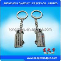 Hot selling metal rhinestone crown shape keychain best quality