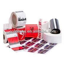 Decorative custom printed return address labels