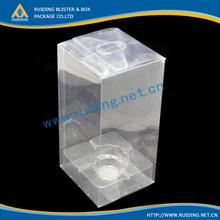 clear cosmetic folding carton