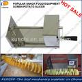 Alta qualidade spiral cenoura/batata doce/batata tornado máquina de corte