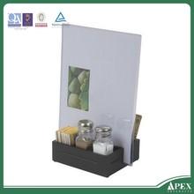 acrylic Freestanding tri-fold brochure holder