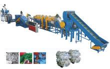 plastic film crushing and washing machine waste plastic film recycling line