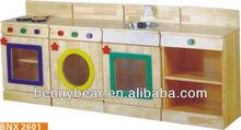 Hot Sale!Children Wooden Kitchen Furniture Role Play Toys