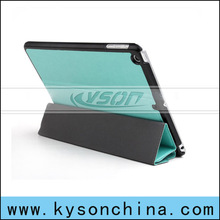 Stand case for ipad mini 2 holster, with Auto wake/sleep function