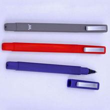 Square Busniess Promotion Plastic Ballpoint Pen