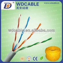 shenzhen factory price yellow jacket cat 5 lan cable information