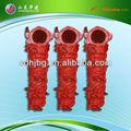 위조 아연 도금 dn50 schwing 콘크리트 펌프 파이프 클램프