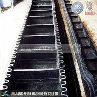 pneumatic conveying chevron conveyor belt in Conveyor