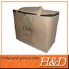 Non woven material food packing aluminium foil cooler bag