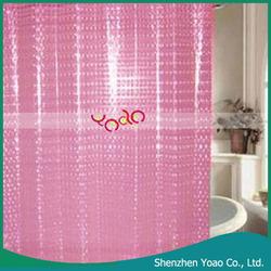 Wholesale Diamond Shower Curtain Hot Pink