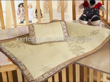 Pure Natural Rattan Bed Mat for Baby Small Sleeping Summer Mat