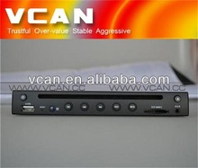 Half-din Extra Slim Portable Car DVD player VCAN0500