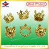 France nickel free custom metal crown epiphany gift metal awarding metal beans decoration for cake events