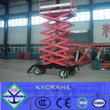 loading electric hydraulic scissor lift platform