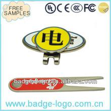 custom magnetic hat clip ball marker for golf