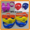 Novo modelo em4100/tk4100 pulseira rfid/pulseira com amostras grátis