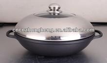 korea ceramic coating wok pan