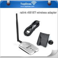 54Mbps 5dBi High Gain Mini Wireless USB Card Adapter Wifi Network Card TD-036H