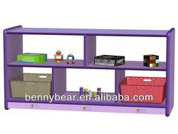 Kindergarten Furniture Hollow Multifunctional Storage Cabinet