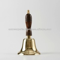 Small Brass Hand Bells With Superior Quality Finish