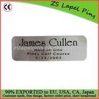 aluminum label print metal label tags