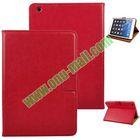 Crazy Horse Pattern PU Leather Smart Cover for iPad Mini Retina