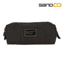 2014 China factory black pretty branded cosmetic bags