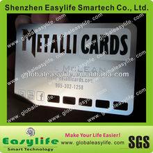 Best Price Beautiful Silver Metal Card (Metal Membership Card, Metal Name Card)