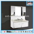 aço inoxidável armário do banho de hotel de luxo de amenities de banho