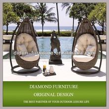 garden furniture hanging wicker basket chairs for bedrooms